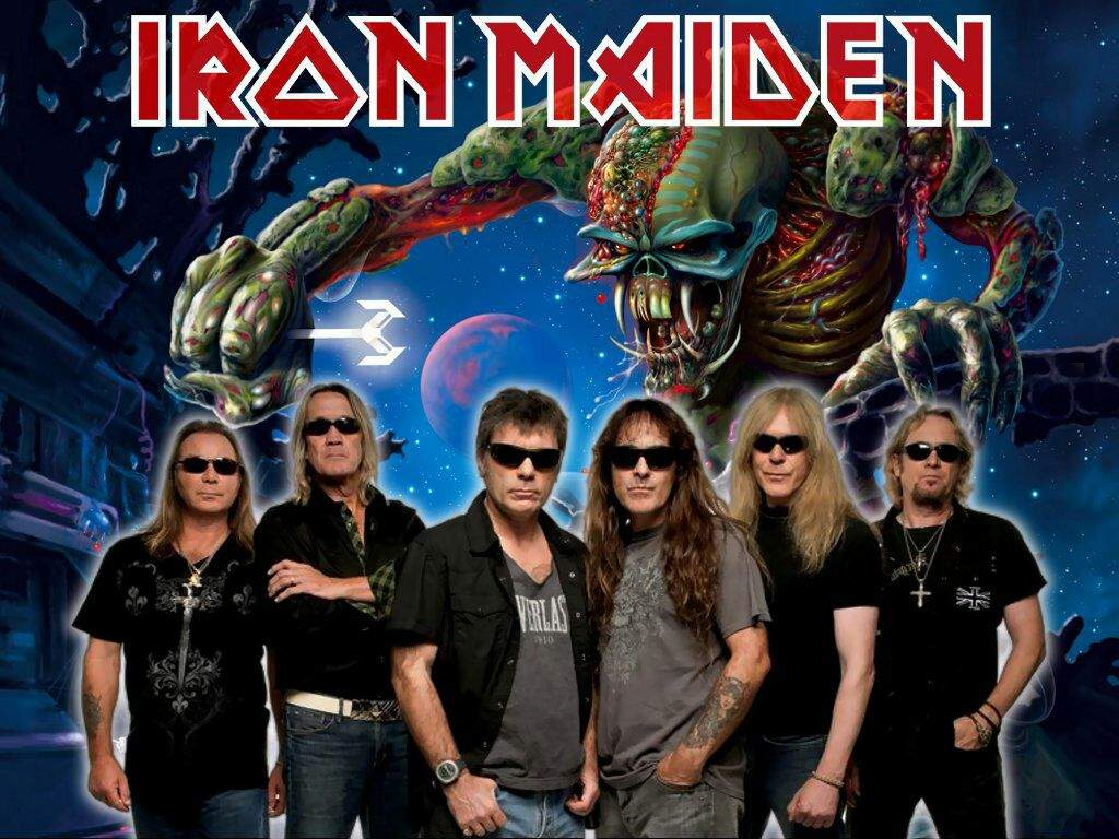 Iron Maiden de headliner, no Rock in Rio 2021